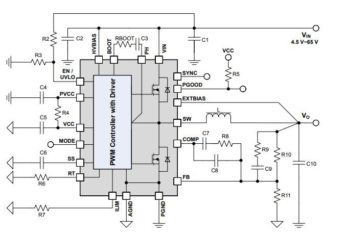 集成MOSFET优化型降压稳压器将功率密度提升至新水平