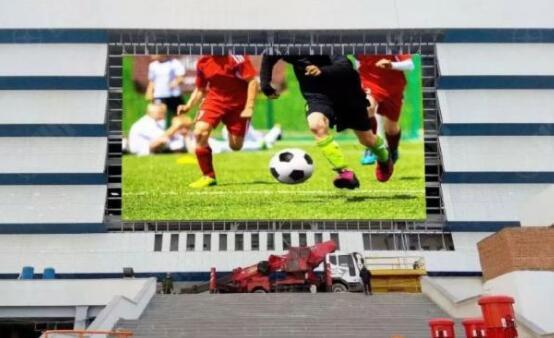怒刷存在感,这些中国LED屏进世界杯了