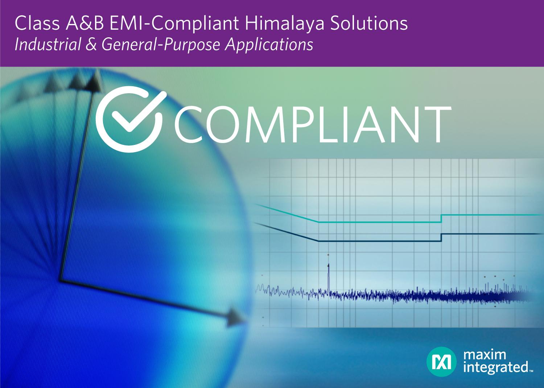 Maxim发布低EMI喜马拉雅专利组合方案