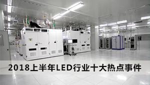 一文了解2018上半年LED行业十大热点事件
