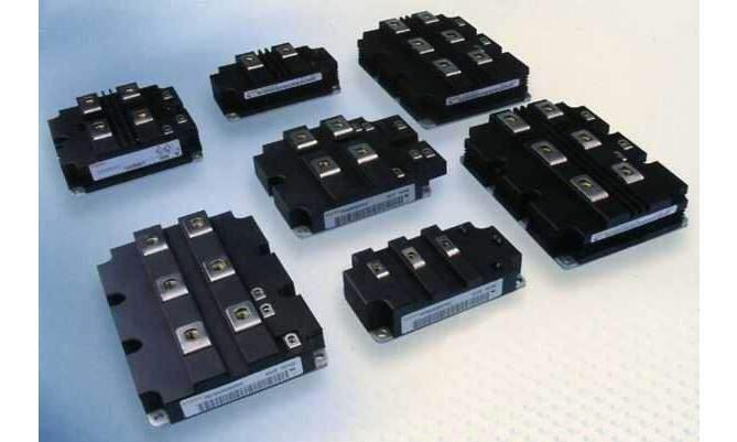 五种不同的IGBT模块内部结构和电路图解析