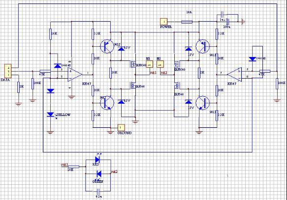 几种常见直流电机驱动电路图及设计思路