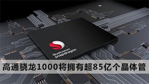 超越苹果A12,高通骁龙1000将拥有超85亿个晶体管