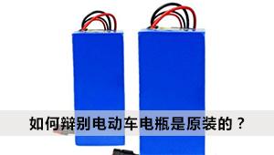 如何辩别电动车电瓶是原装的?