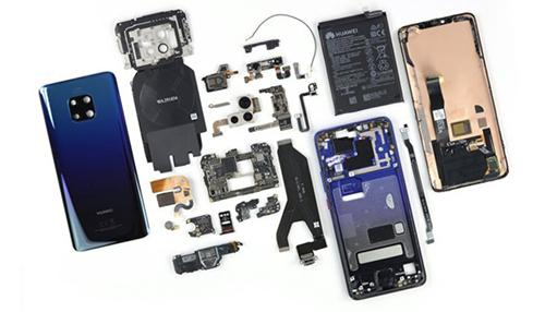 拆机测评 | 华为Mate20 Pro仅得4分,比iPhone XS更难修