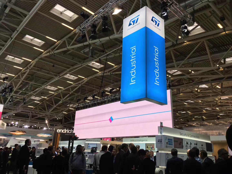 来德国慕尼黑ST展位探索汽车和工业应用的智能解决方案
