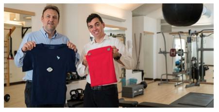 工程师将智能科技编入时尚服装,帮助抑制青少年肥胖症