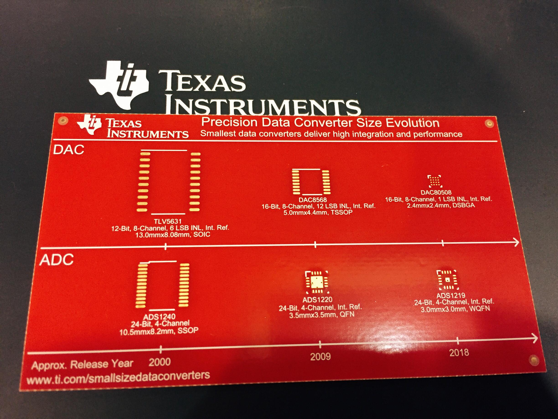 突破精度和尺寸极限 德州仪器高精密数据转换器登场