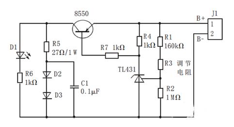 基于TL431的锂电池均衡电路