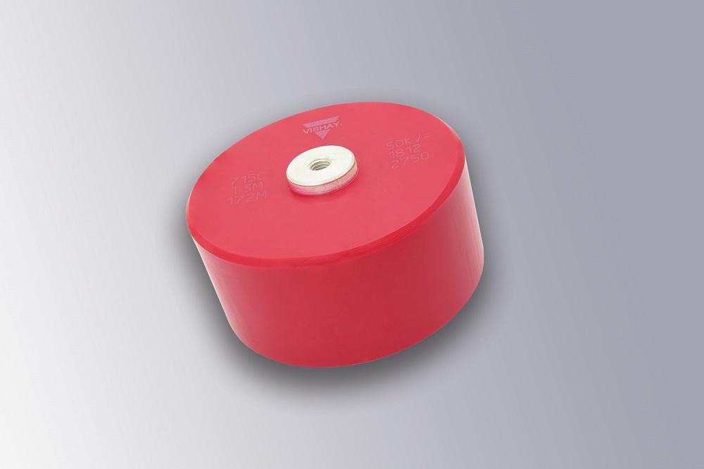 Vishay的螺丝固定盘式陶瓷电容器扩展至50 kVDC