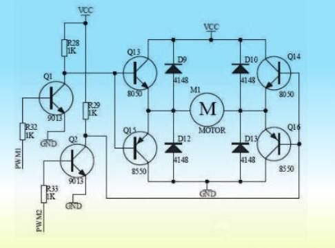 几分钟了解!基于较大功率的直流电机H桥驱动电路方案