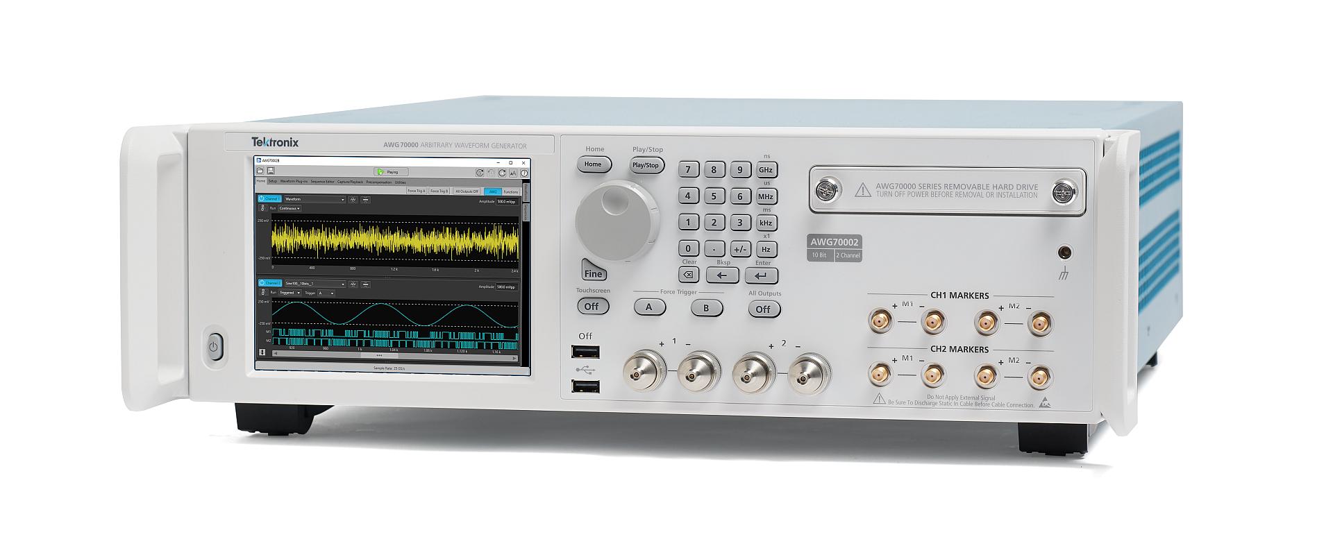 泰克推出AWG70000B,可以更准确地仿真现实世界信号