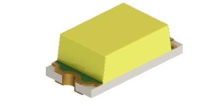ROHM开发出实现高可靠性的1608尺寸白光贴片LED