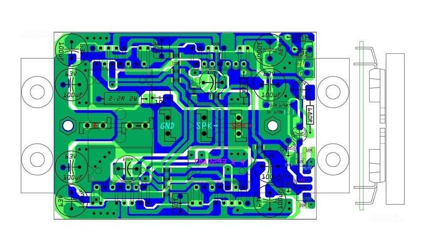 电磁干扰, 地线干扰, 机械杂音太严重? 这样解决功放电路的PCB布线问题