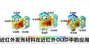 高性能近红外发光材料在近红外OLED中的应用性能及其相关机理