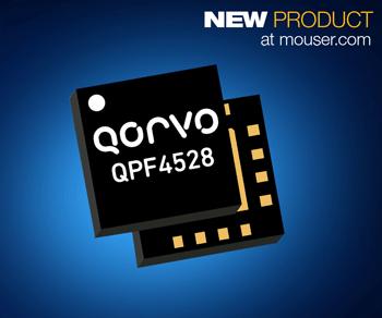 贸泽电子开售面向企业级Wi-Fi 6系统的Qorvo QPF4528前端模块