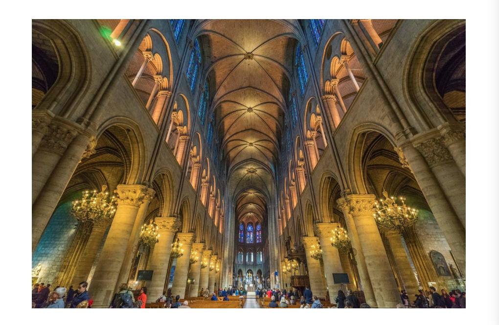 圣母院激光建模是怎么回事?为什么要通过建模?