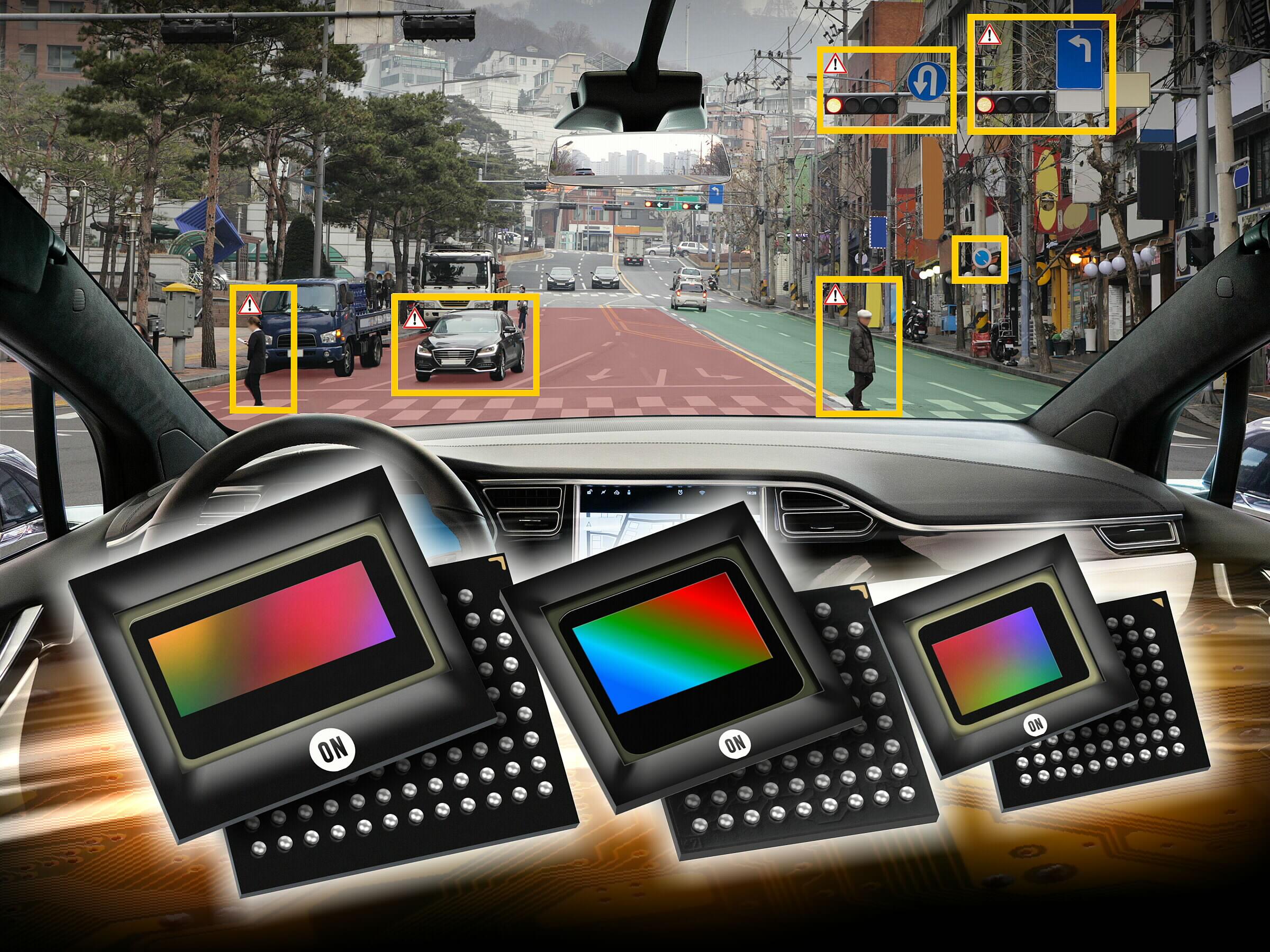 安森美半导体在AutoSens 2019展示 汽车CMOS图像传感器、雷达方案