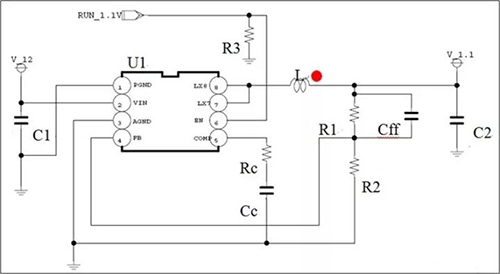 详解电感极性对BUCK变换器反馈环的影响