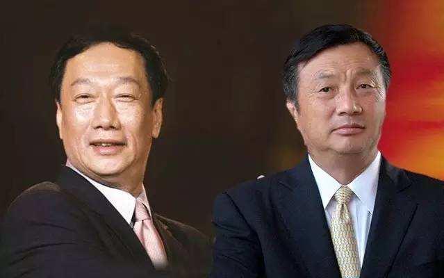 华为任正非和富士康郭台铭都需要回答一个问题:中国制造下一步在哪儿?
