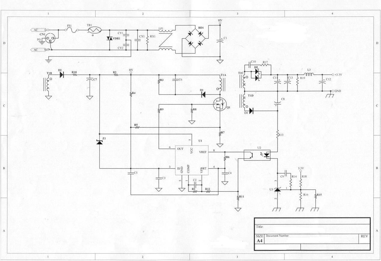 电源原理图——各元器件的功能详解