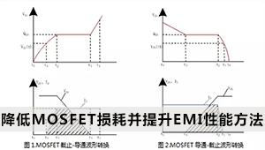 干货 | 降低MOSFET损耗并提升EMI性能,二者兼得的好方法!