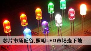芯片市场陷入低迷期,引发全球照明LED市场走下坡