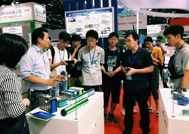 科力远在2019香港秋电展首次发布轨道交通电池新品