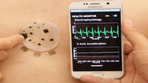 可同时处理非触摸和触觉刺激的电子传感器出现!