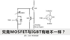 论证:究竟MOSFET与IGBT有啥不一样?