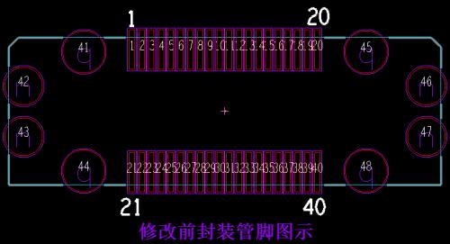 如何解决PCB封装内管脚名与原理图不一致?