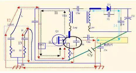 为什么开关电源变压器添加绕组并接地更好?