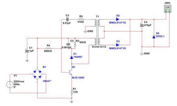 教你如何快速有效的攻破单管开关电源的核心要点