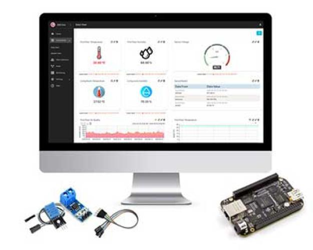 Digi-Key Electronics 和 Machinechat 宣布全球供应业内最经济实惠的用于 BeagleBone 的即用型物联网数据管理解决方案