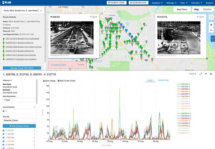 FLIR Systems 推出用于预测性交通管理的人工智能红外交通传感器