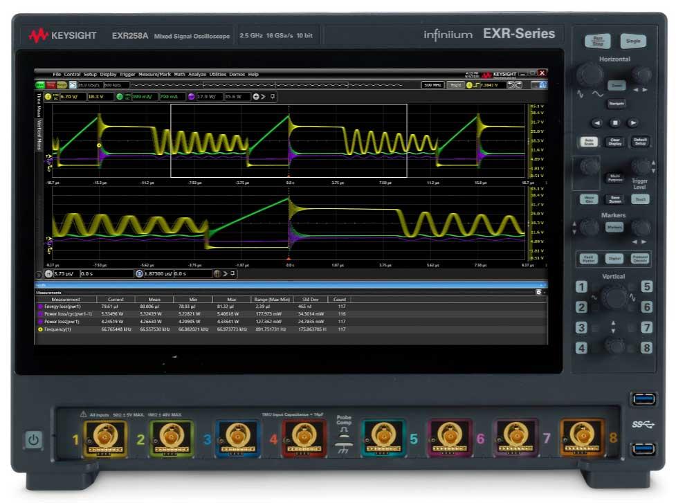 是德科技全球分销商网络正式开售业界领先的 Infiniium EXR 系列示波器