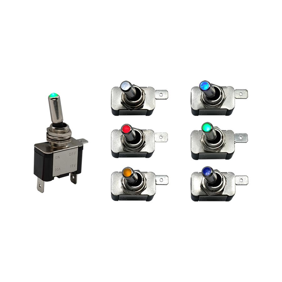C&K 带灯钮子开关系列可在恶劣的环境中节省空间