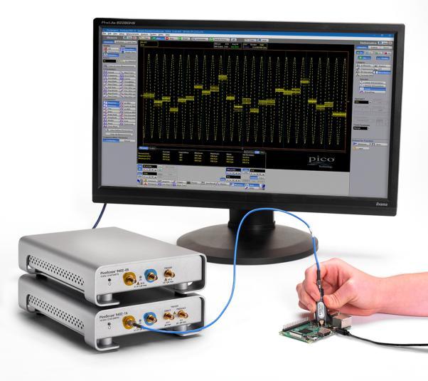 英国比克科技(Pico Technology) 发布2通道9402系列SXRTO系列高带宽示波器