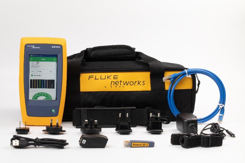 LinkIQ™智能链路通线缆+网络测试仪,集福禄克网络线缆性能技术与交换机诊断功能于一身 简化综合布线和网络设备的安装和故障诊断