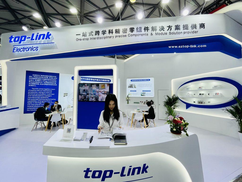 拓普联科亮相2021年慕尼黑上海电子展