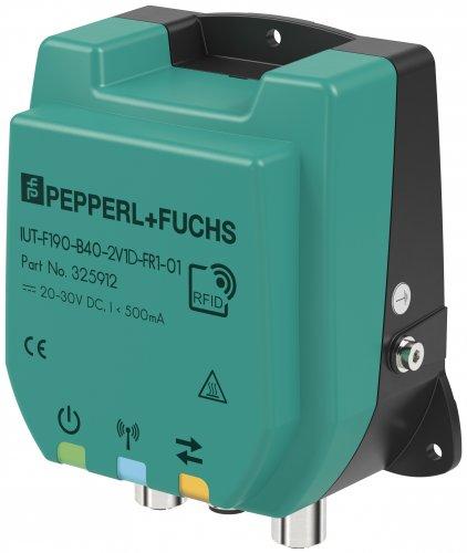 倍加福推出集成了工业以太网接口和REST API的IUT-F190-B40 UHF读/写头,扩展RFID产品组合