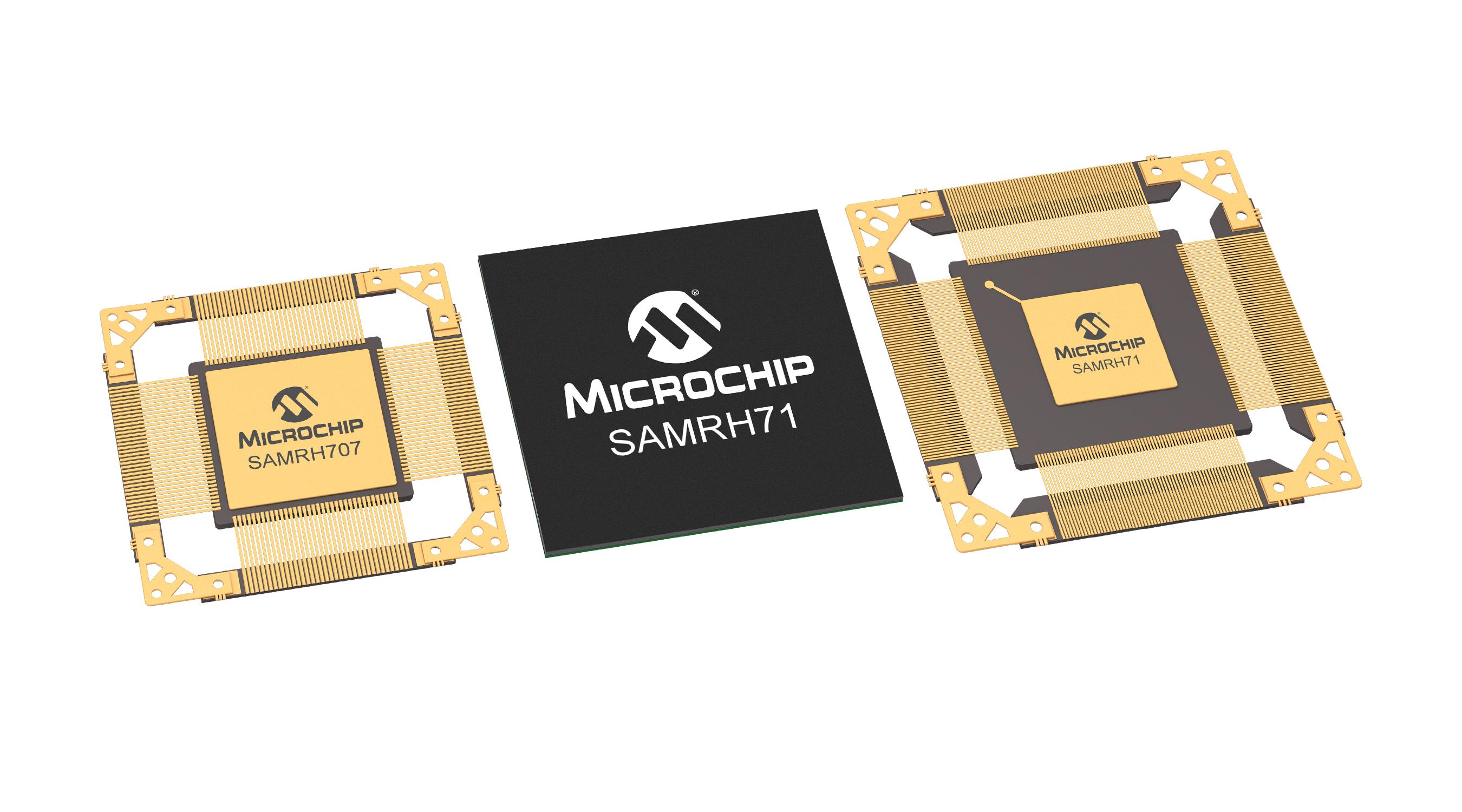 Microchip宣布扩展用于空间系统的抗辐射Arm单片机(MCU)产品阵容