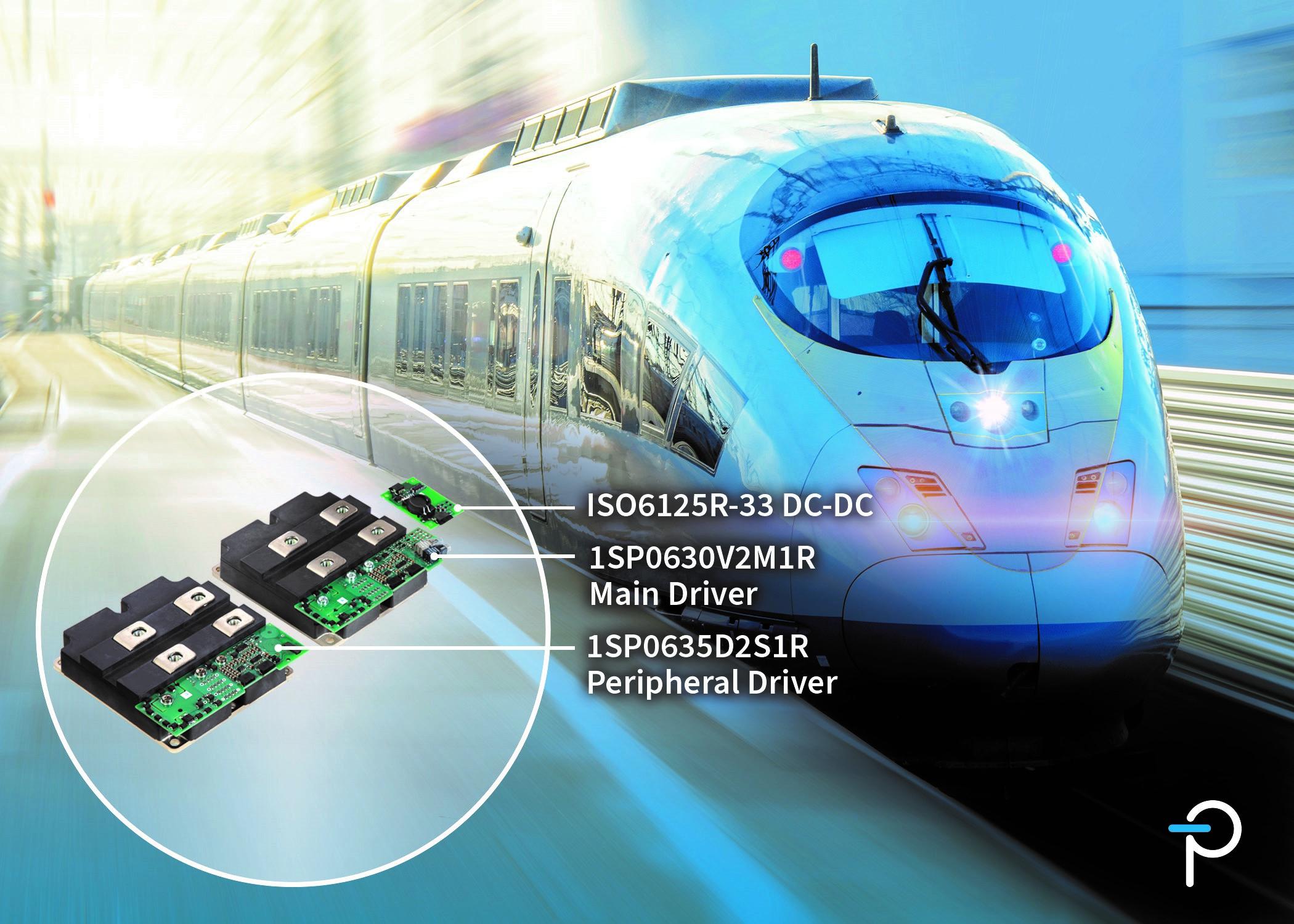 Power Integrations面向轨道交通应用推出新款外形紧凑、坚固耐用的SCALE-2即插即用型门极驱动器