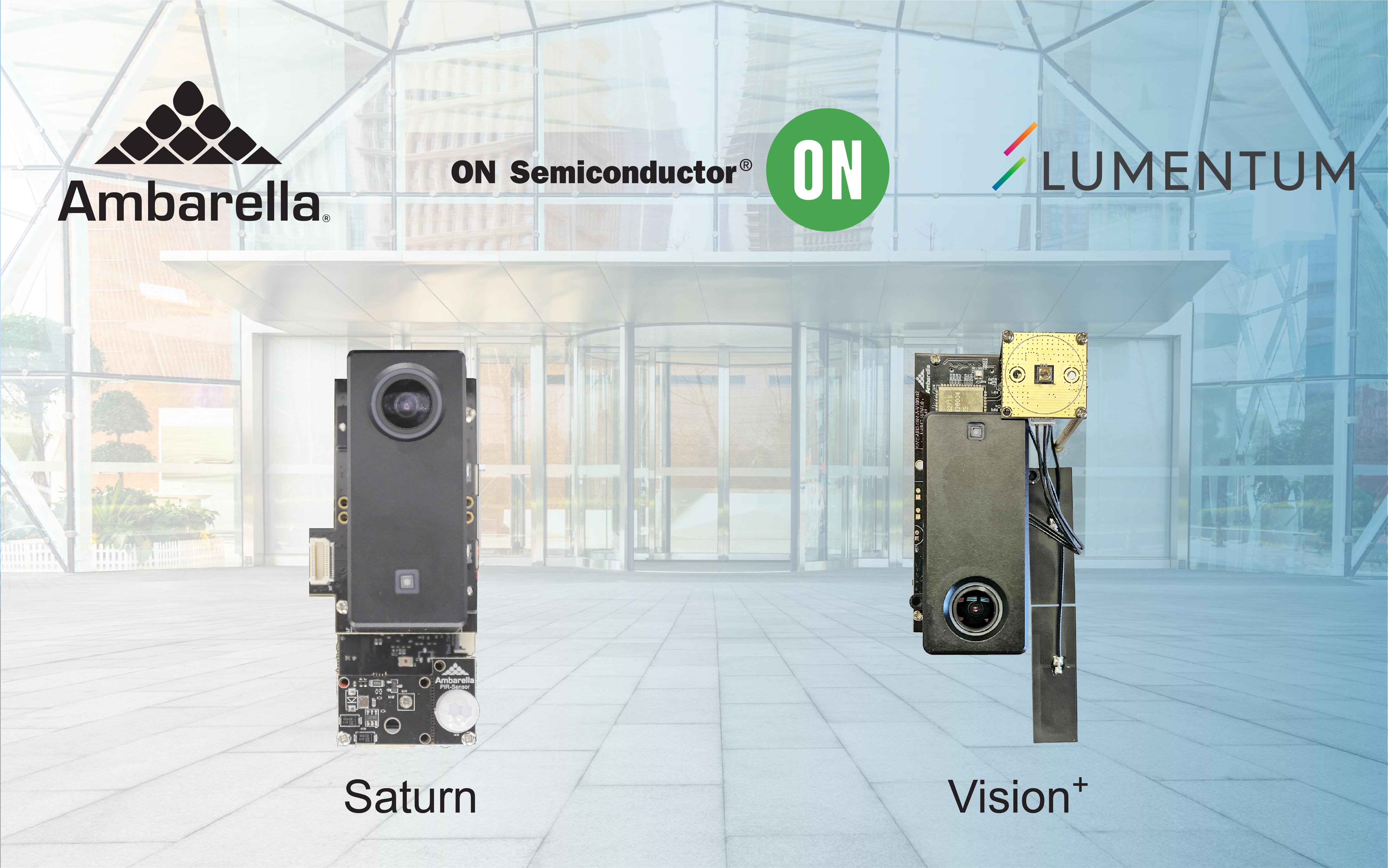 安霸、Lumentum和安森美半导体为下一代AIoT设备合作开发结合3D感知技术的AI处理方案