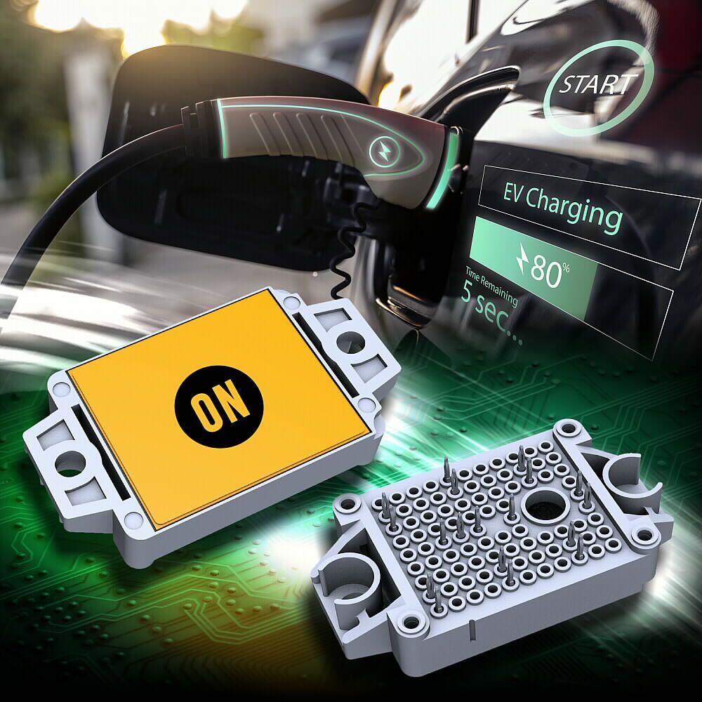 安森美半导体在APEC 2021发布  新的用于电动车充电的完整碳化硅MOSFET模块方案