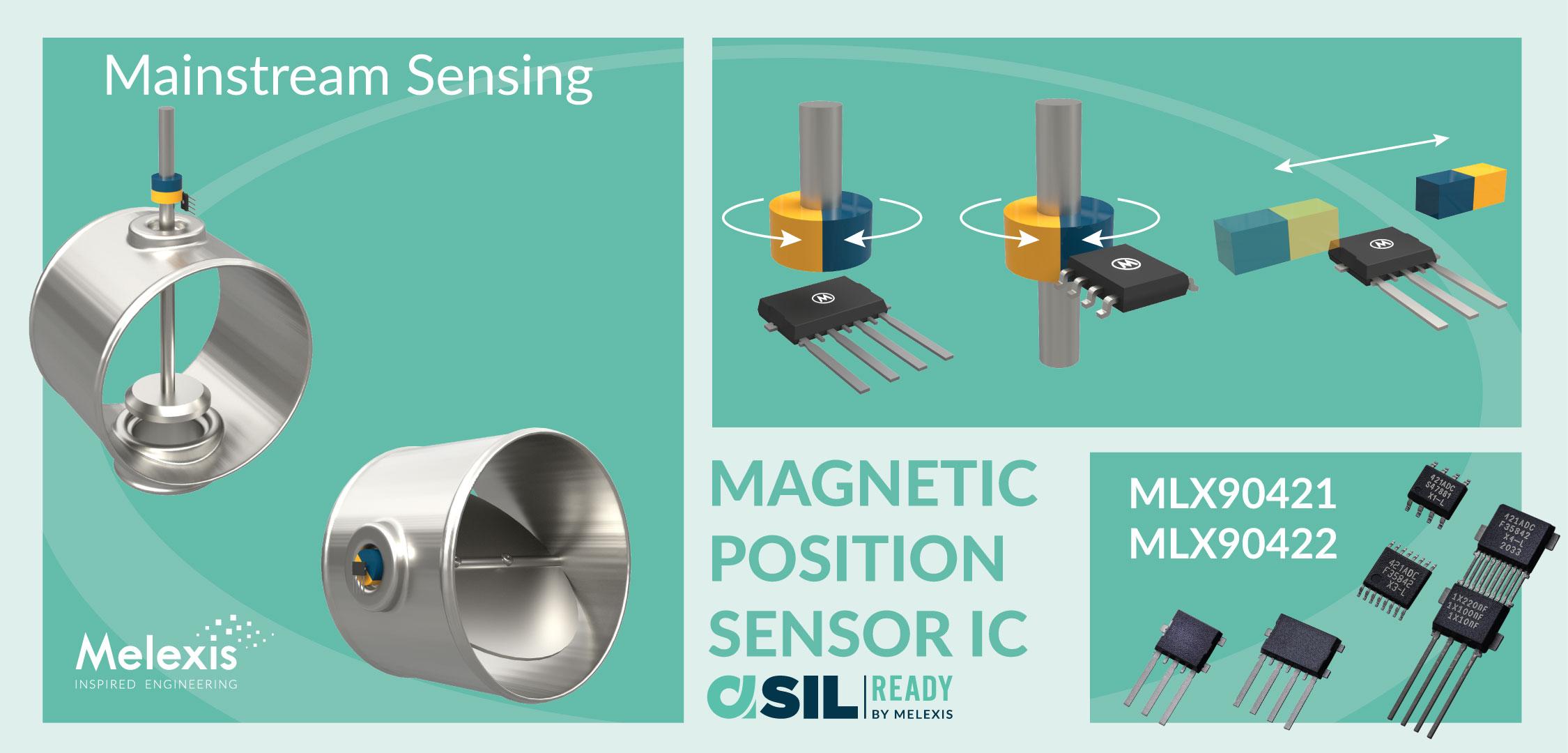 Melexis 推出新款磁位置传感器芯片,荣获 AEC-Q100 认证并支持 ASIL-B 功能安全等级