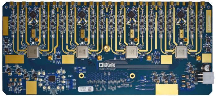 多通道RF到数据开发平台助力相控阵原型开发