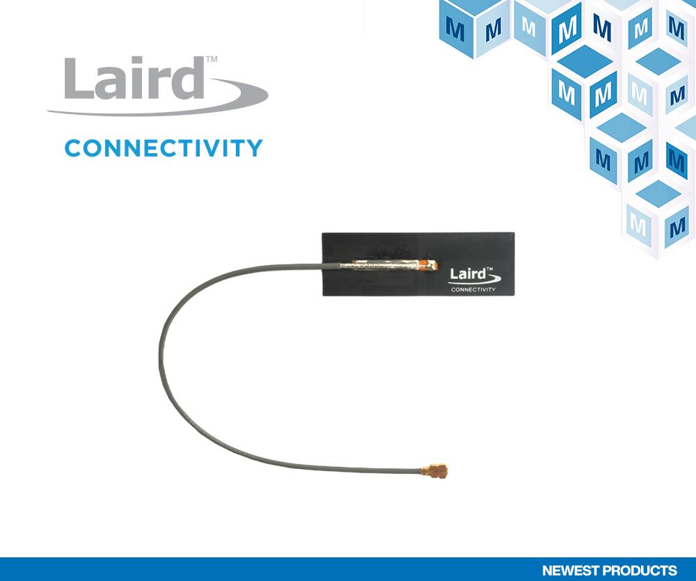 贸泽开售Laird Connectivity适用于Wi-Fi 6E频率的 全新Mini NanoBlade Flex 6E天线