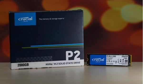 评测丨在精良的QLC颗粒加持下,Crucial英睿达P2 2TB SSD能飙到什么程度?