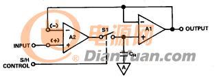 图7b - 使用IC采样保持放大器